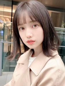 弘中アナ髪型1
