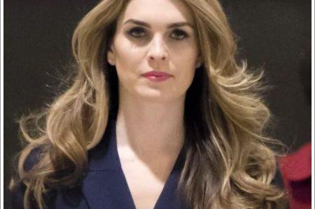 【画像】トランプ大統領側近のホープ・ヒックスが美人すぎる!モデル時代も可愛いと噂に