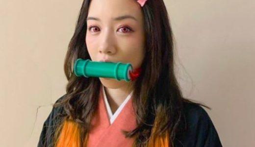 【画像】禰豆子のコスプレが熱い!永野芽郁や可愛い有名人まとめ!