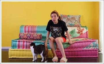 仲里依紗の自宅にある新しいソファの値段は?KENZO柄はどこで買える?