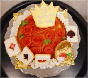 花江夏樹の嫁が作ったケーキ