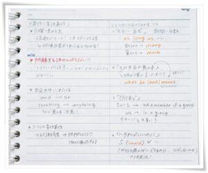 上田彩瑛のノート