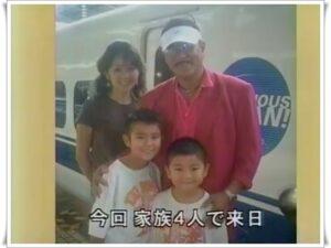 眞栄田郷敦と家族
