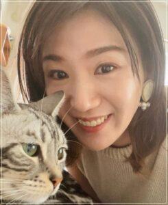 栗原恵と猫