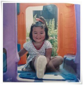 やす子の子供時代の写真