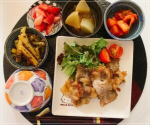 熊田曜子の料理