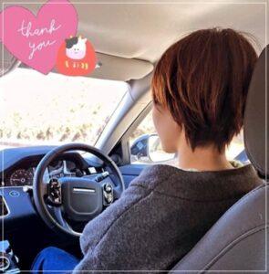 石井優希の愛車はレンジローバー2
