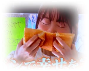 花澤香菜のパン吸い画像