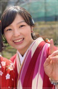 川井友香子の大学卒業写真