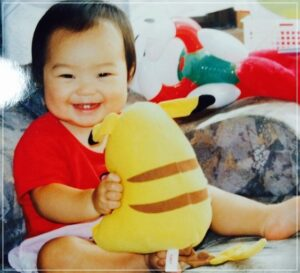 川井友香子の子供時代