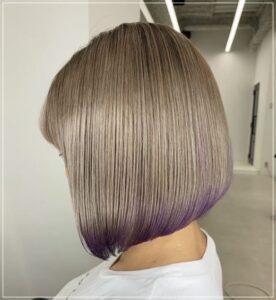 川井梨紗子のヘアカラー2