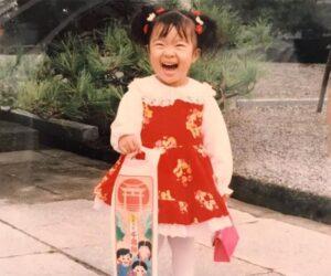 川井梨紗子の子供時代