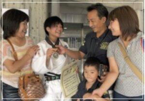 渡名喜風南の家族
