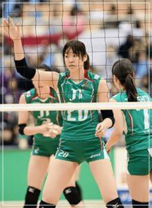 芥川愛加のJTマーヴェラスの試合写真