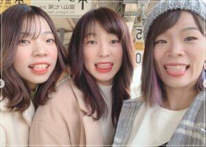 川井友香子と梨紗子と優梨子