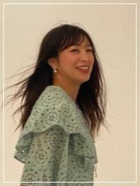 VOCE撮影時の川井友香子選手