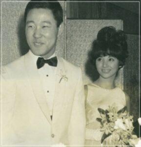 なべおさむと笹るり子の結婚式