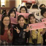 中国でも人気の卓球の石川佳純選手2