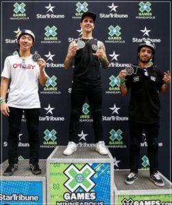 中村輪夢がX-gameで準優勝