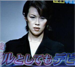 中田久美のモデル時代