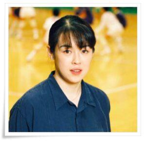 中田久美の若い頃がかわいい