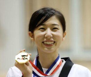 テコンドー選手の山田美諭