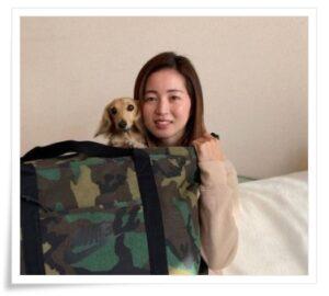 清水梨紗と犬