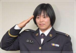 濱田尚里は自衛隊所属