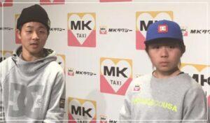 笹岡選手と岡本碧優選手