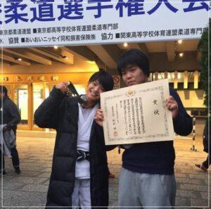 阿部詩の高校柔道選手権大会
