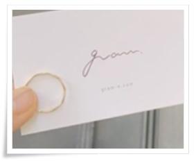 須崎優衣の指輪