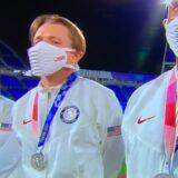 オリンピックのアメリカチームのかっこいいマスク