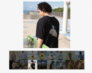 平野歩夢のユニクロのTシャツ4