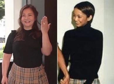 【驚愕】華原朋美が結婚発表した時の服装が怖い!?安室奈美恵と同じなのは何故?
