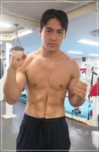 赤井英五郎の筋肉